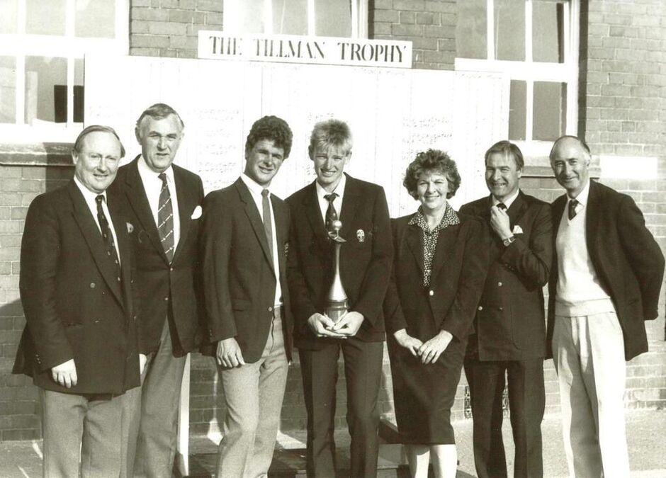 Ernie Els Tillman Trophy Royal Lytham
