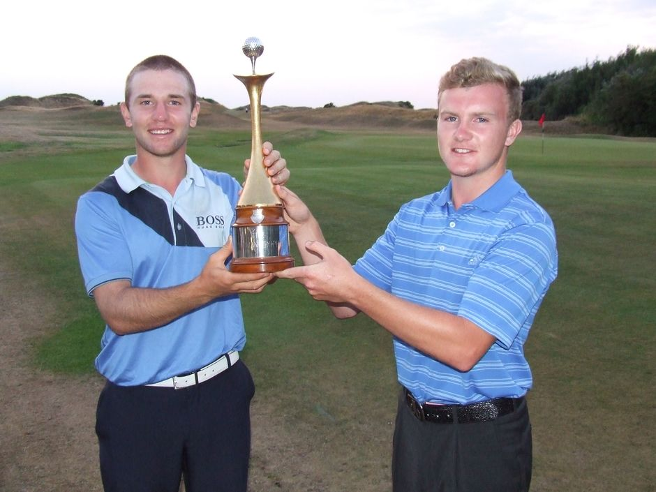 Joint Winners 2013 - R Cornfield & P Kinnear